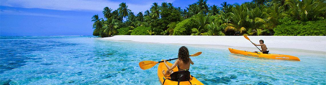 maldivas kayak