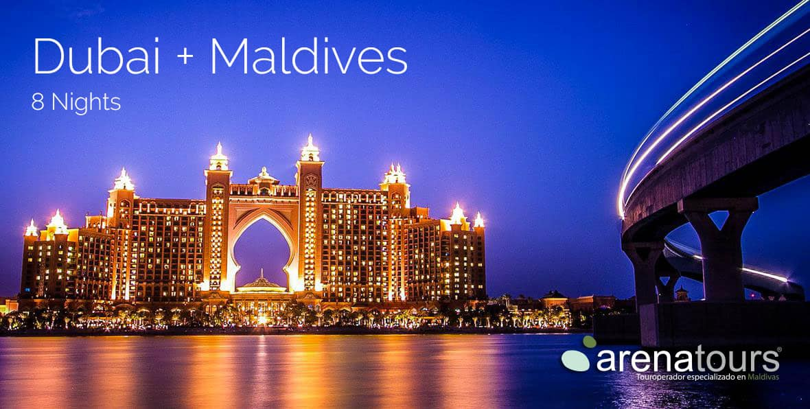 Tour Offer Express: Dubai + Maldives 8 nights in Maldives Country