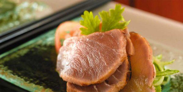 Plato Japonés en el restaurant Sangu