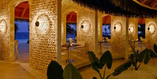 Kandolhu Maldives: sea grill restaurant