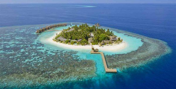 Kandolhu Maldives: vista aerea