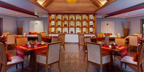 Ban Thai Restaurant Sheraton maldives