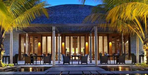W Maldives Restaurants: kitchen exterior