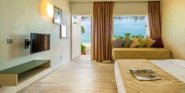 Cocoon Maldives Beach villa: habitación principal