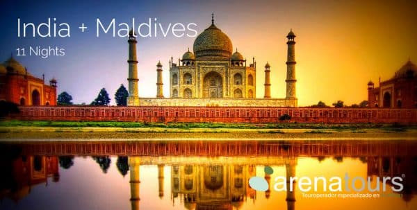 Portada Tour oferta India + Maldivas