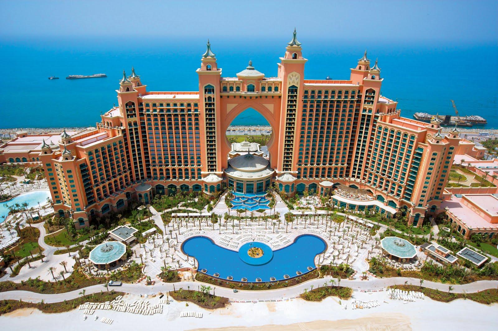 El maravilloso hotel Atlantis the Palm en la palmera de Duabi