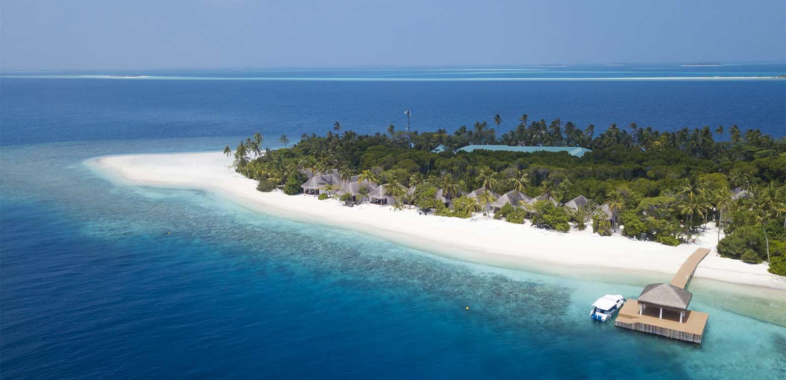 Dreamland Maldive, foto aerea