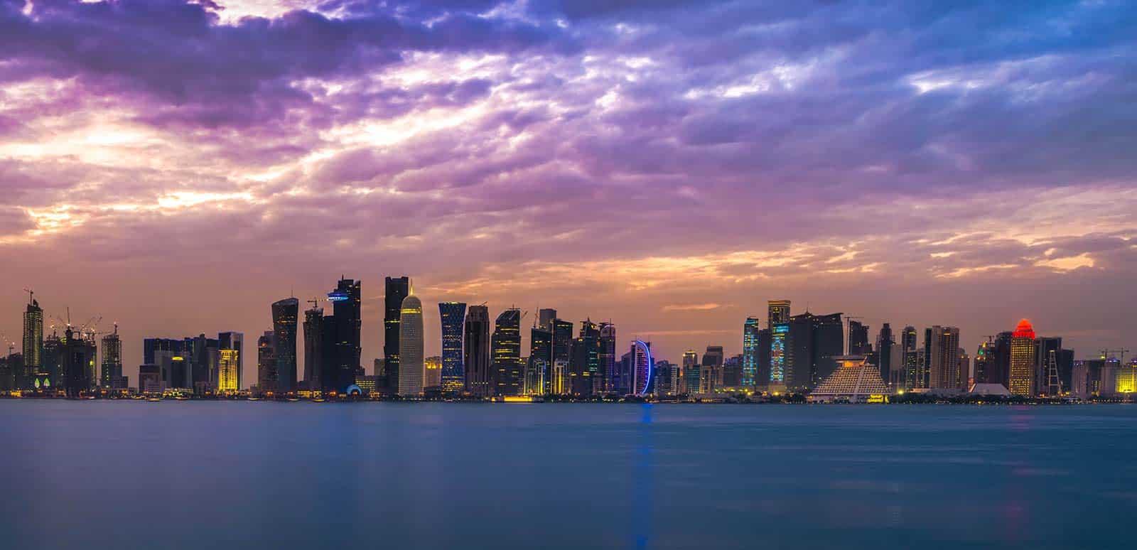 skyline Doha, Qatar