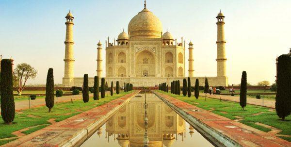 Vista del Taj Mahal