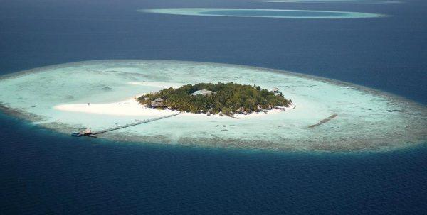 Foto aerea Banyan Tree Vabbinfaru Maldives