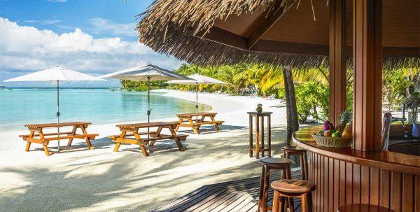 kakuni hut Sheraton Maldives