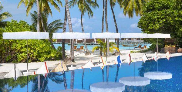 W Maldives Restaurants: Wet piscina