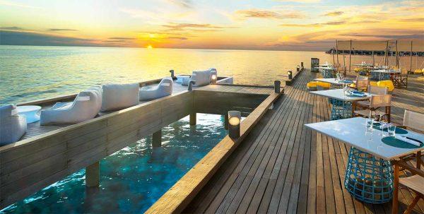 W Maldives Restaurants: fish