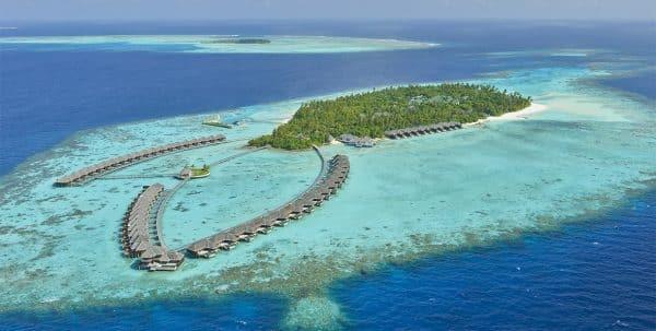 vista aérea Ayada Maldives