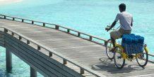 un paseo en bicicleta por Dusit Thani Maldives