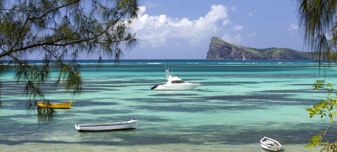 Excursión en barco en la Isla Mauricio