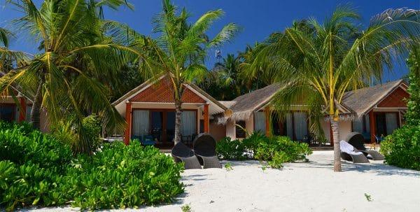 Vista exterior de laBeach Villa de Kudafushi