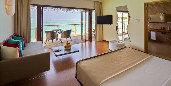 Cocoon Lagoon suite: interior