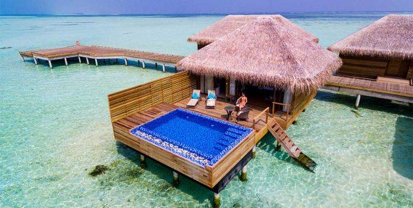 Cocoon Lagoon villa: vista exterior