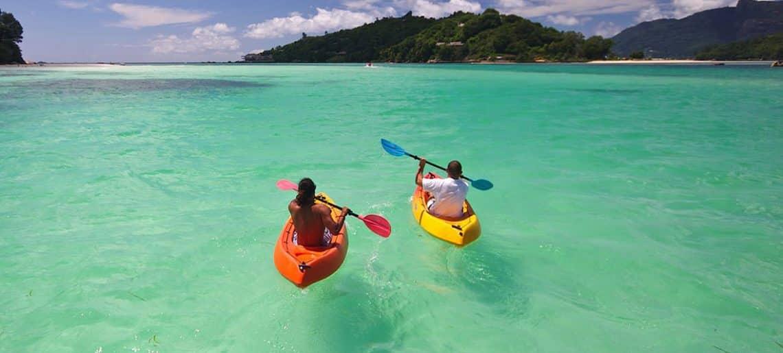 Actividades acuáticas en las Islas Seychelles