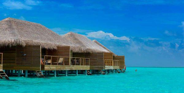 Cocoon Maldives: vista exterior Water Villas