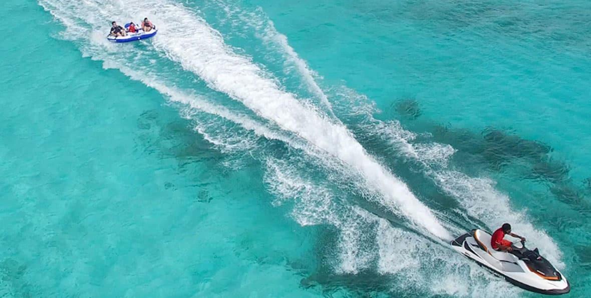 Escursioni alle Maldive: moto d'acqua