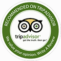 Recomended by Trip Advisor