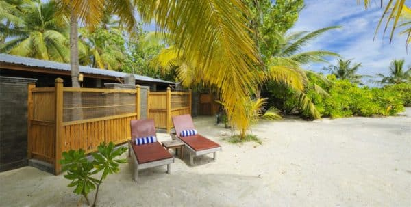 Fun Island Maldives Beach Room, exterior de la villa
