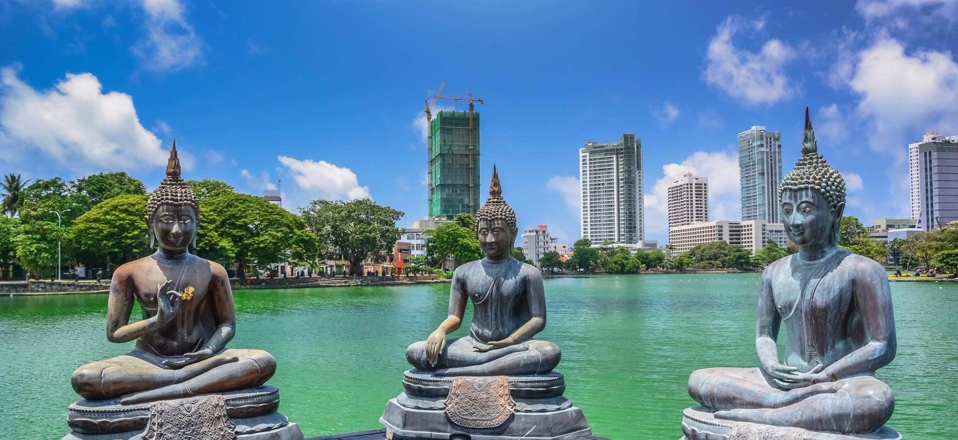 Colombo, estatuas y rascacielos
