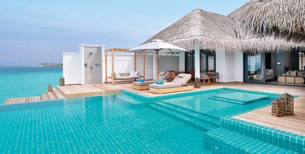 Finolhu Ocean Villa: piscina privada