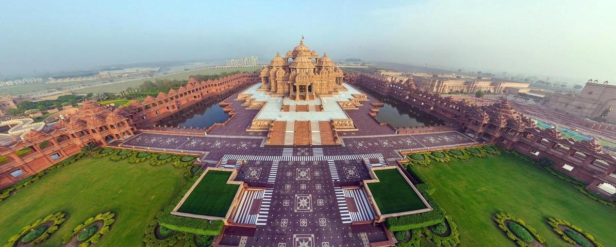 Templo de Akshardham en India