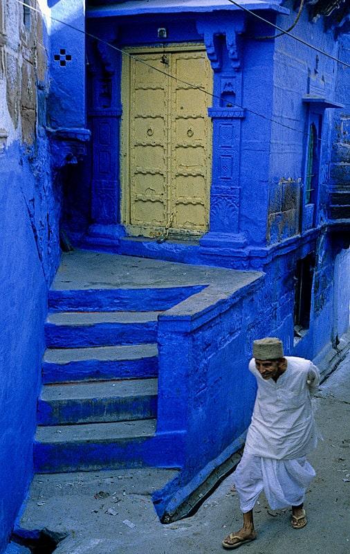 Particular de Jaipur, la ciudad azul de la India
