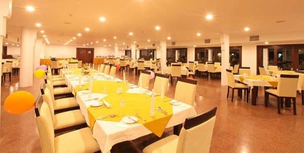 restaurante Rajarata Hotel Sri Lanka