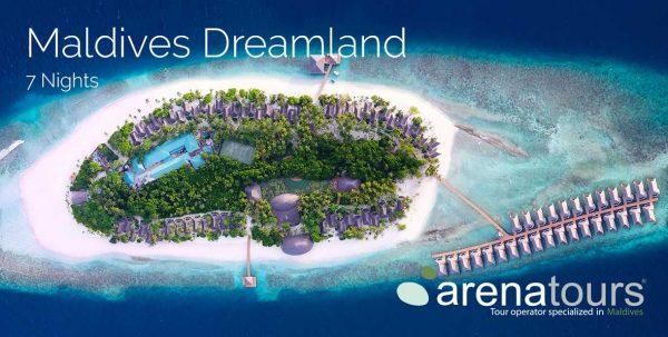 oferta de viaje a Maldivas en Dreamland 7 noches