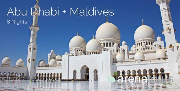 viaje combinado Abu Dhabi + Maldivas