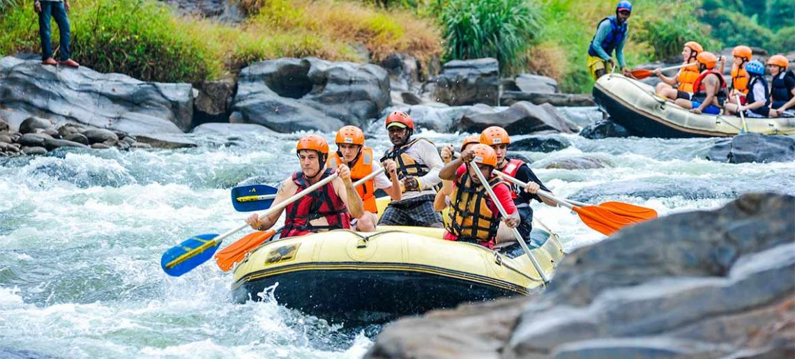 Rafting en Kitulgala
