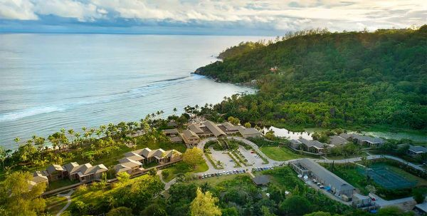 Kempinski Seychelles: vista erea