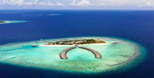 Mövenpick Maldives, vista aerea