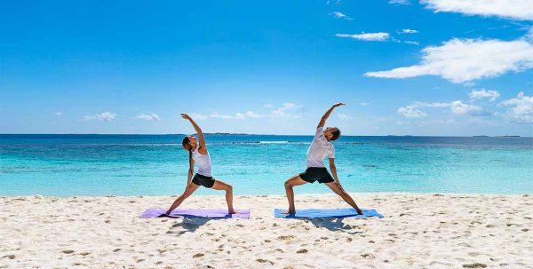 yoga en Reethi Faaru