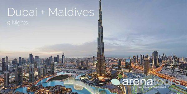 viaje combinado Dubai + Maldivas