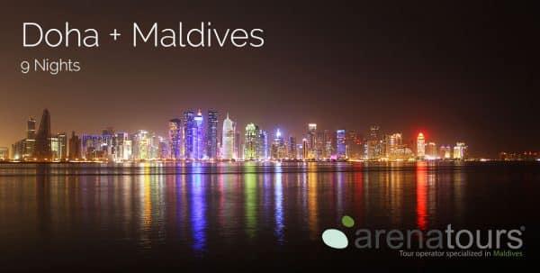viaje combinado doha + maldivas