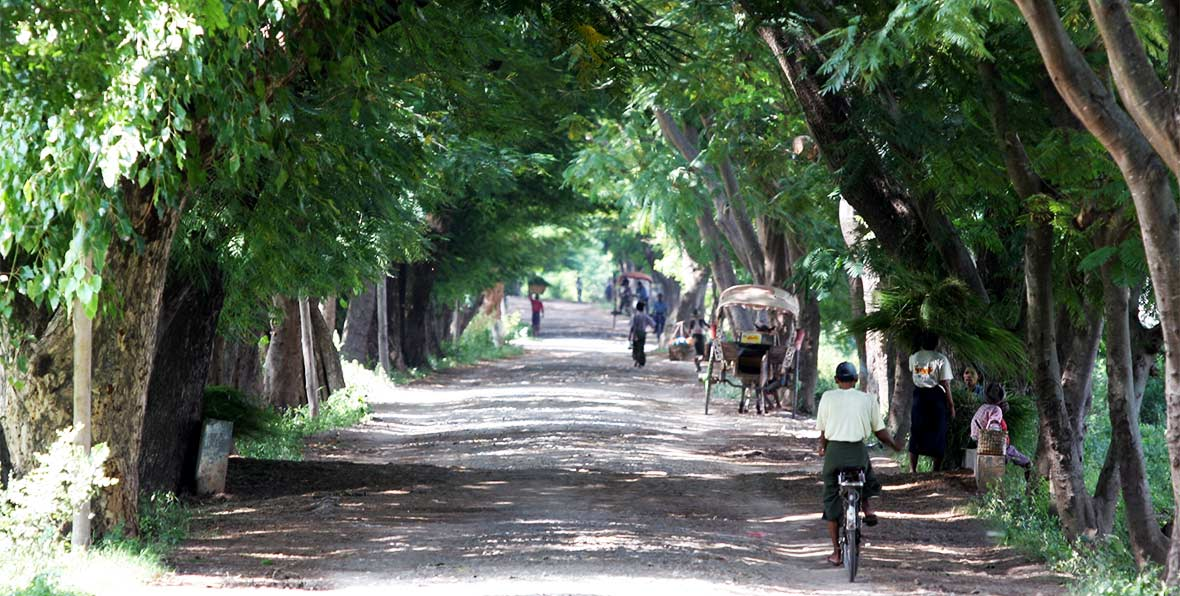 viaje a Birmania:paseo en Ava
