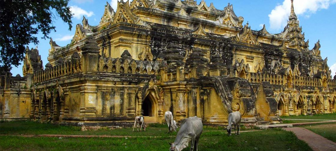 Bagán – Mandalay– Amarapura– Ava – Mandalay