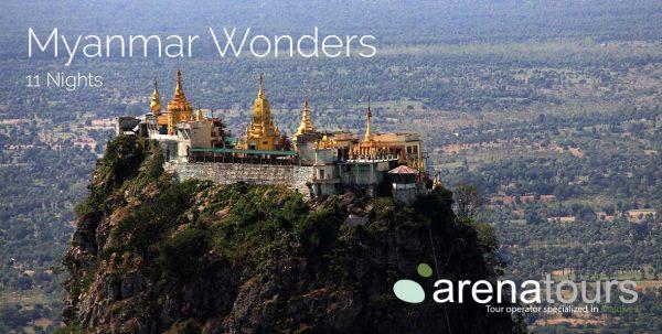 viaje a Myanmar: tour maravillas de Myanmar