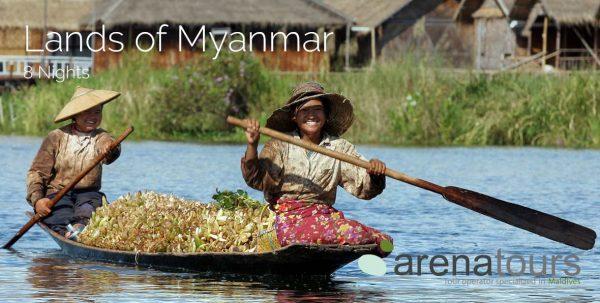 voaje a myanmar: tour tierras de myanmar de 8 noches