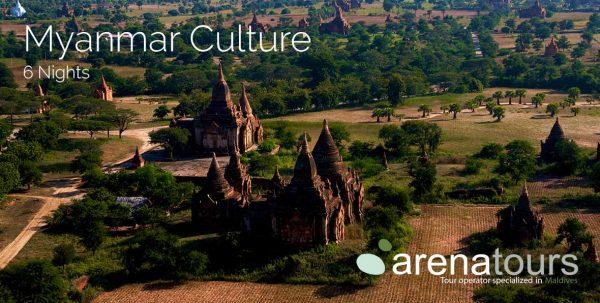 viaje a myanmar: tour cultura de myanmar, 6 noches