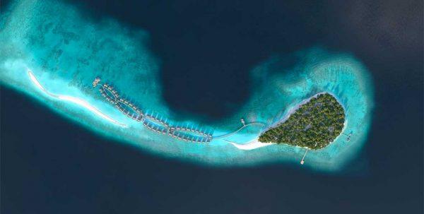 vista aerea de Joali Maldives Resort