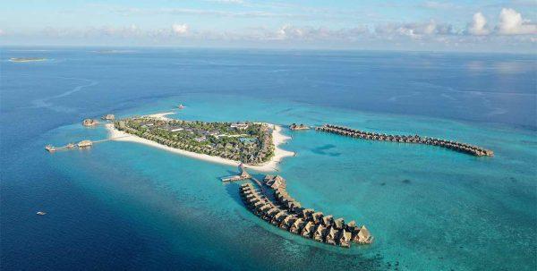 Heritance Aarah Maldives, vista aérea