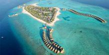 vista aerea de Heritance Aarah Maldives