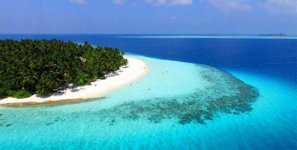 Fihalhohi Island Resort vista aérea